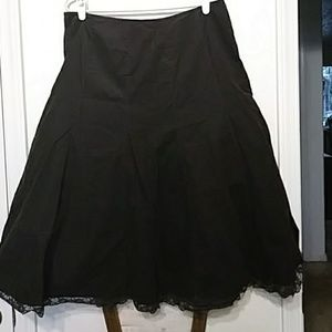 Emma James brown cord skirt